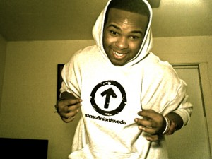 boy wearing ATI hoodie