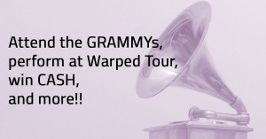 Win a trip to the GRAMMys and more!