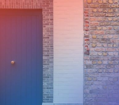 blogpost_door, brick wall