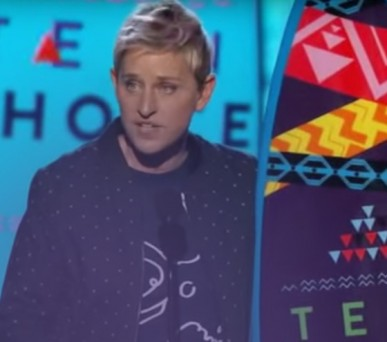 Ellen - Teen Choice Awards